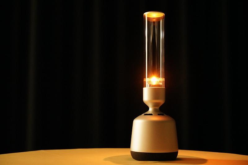 間接照明+ハイレゾスピーカー グラスサウンドスピーカー「LSPX-S2 」実機レビュー