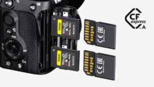 α7SⅢで採用された「CFexpress Type A」メモリーカードってなんだ?SDカードに変わる新規格??メリットは??