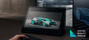 裸眼で高精細な3Dモデルを立体表示できる[空間再現ディスプレイ]「ELF-SR1」発表です!