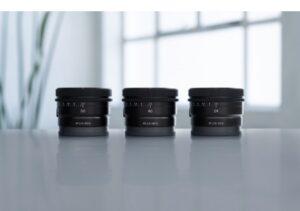 小型軽量設計でフルサイズに対応した新型単焦点レンズ「FE 50mm F2.5 G」「FE 40mm F2.5 G」「FE 24mm F2.8 G」が一斉に登場!