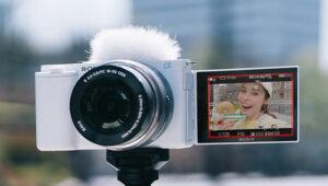 レンズ交換に対応したVlog用カメラ「Vlogcam ZV-E10」使いやすさと画質が発表!使いやすさと画質を両立したかんたん動画用カメラ!
